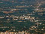Άποψη του χωριού από υπερυψωμένη θέση